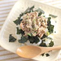 缶詰で作る、鯖味噌ネギのっけごはんの簡単ズボラ飯レシピ