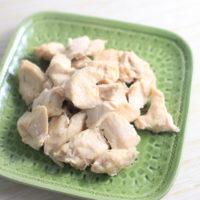 炊飯器で作る「ひとくちサラダチキン」の簡単レシピ