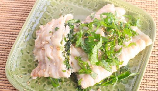 豚肉のしそチーズ巻きの簡単レシピ