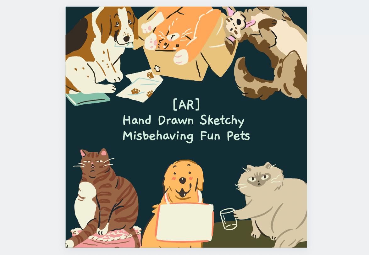 犬猫イラストチート
